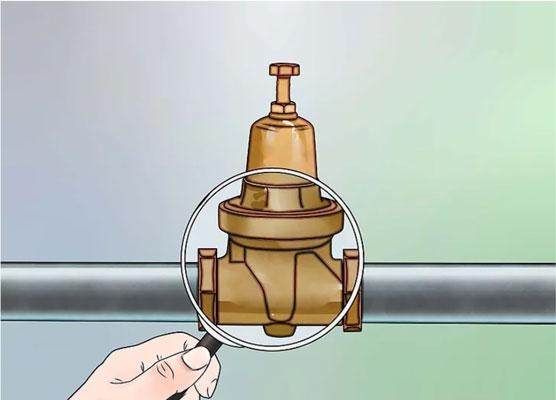 علت کاهش فشار آب - شیر فشارشکن